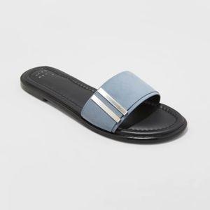 Women's Tess Slide Sandals - Blue